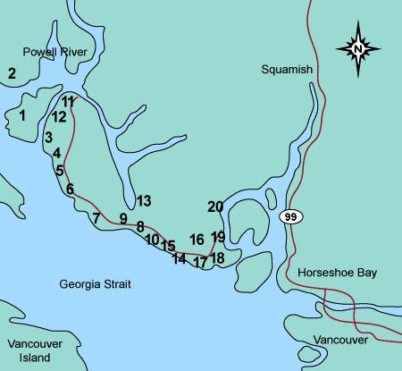sunshine coast bc map pdf