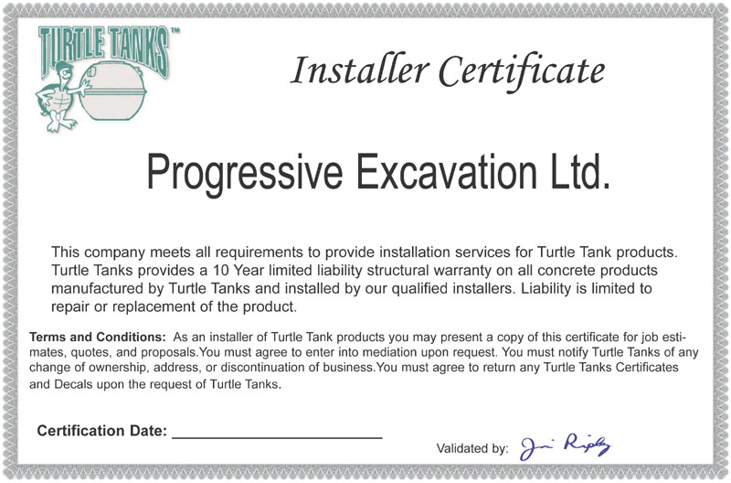Branding tools a sample of the warranty certificate can be shown to potential customers yadclub Gallery